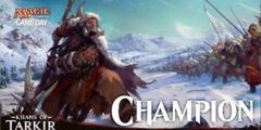 Khans of Tarkir Game Day Champion Play Mat Magic the Gathering